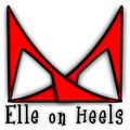 Elle on Heels - red shoes