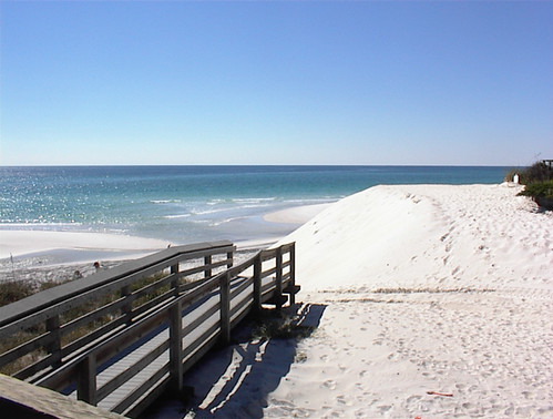October on Ed Walline Beach in Santa Rosa Beach, Florida