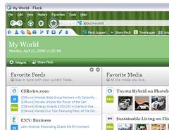 Flock Eco-Edition closeup on Windows