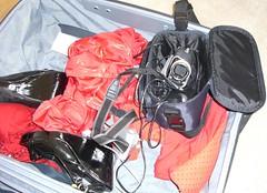 LJ's suitcase - Kit 'n' Heels