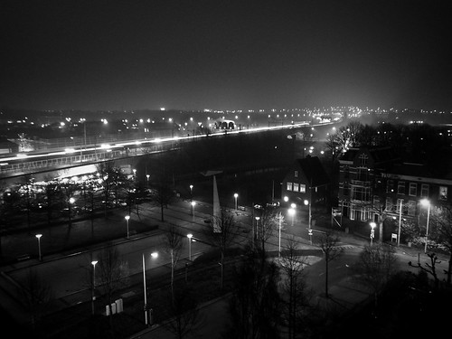 Foggy Night in Voorburg, NL