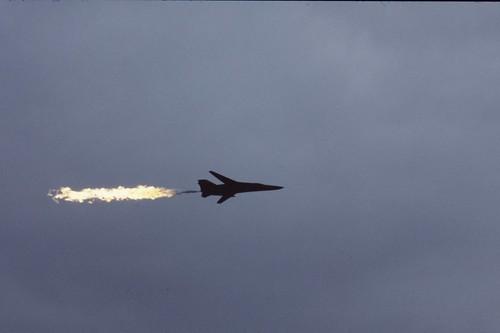 RAAF F111 flyby