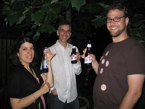 Eden Spodek, David Spodek and Rick Weiss