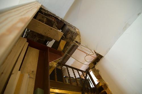 De trap, voor