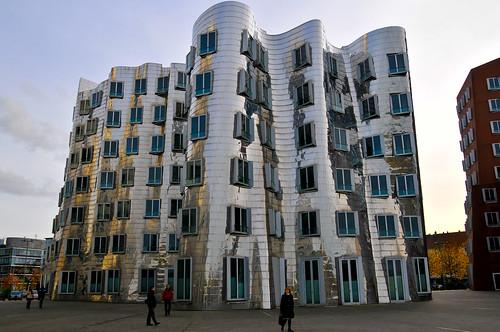 Der Neue Zolhof by Frank Gehry