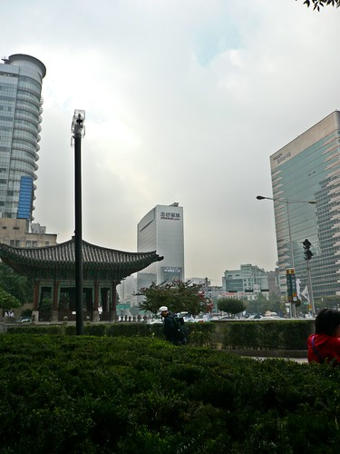Morning of Kwanghwa-Mun