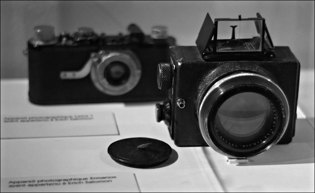 Erich Salomon's Ermanox and Leica