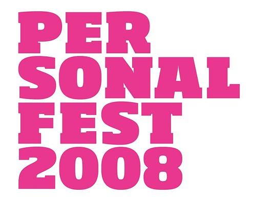 Logo Personal Fest 2008
