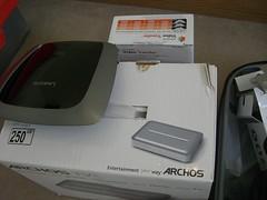 Archos, Pinnacle, Linksys samples