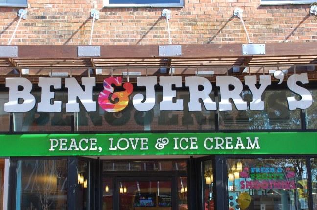 Ben & Jerry's store in Burlington