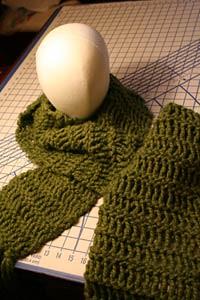 Twisted Drop Stitch Scarf Pattern Kis Knit