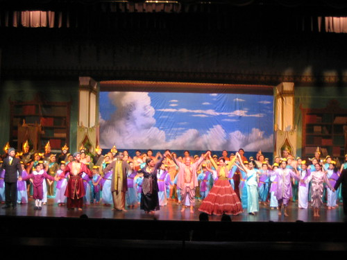 THE CAST OF KING AND I