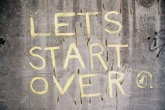 lets start over