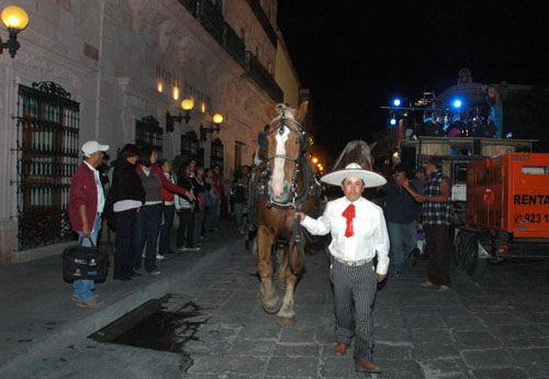 Zacatecas 7 - generik vapeur - 10 - The arrival of the pulling horses