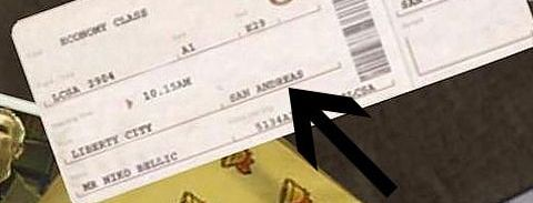 Billete San Andreas