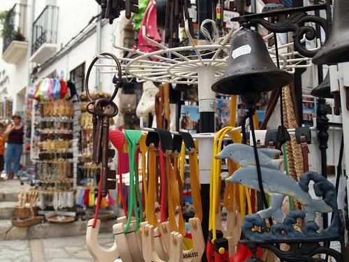Souvenirs en Guadalest