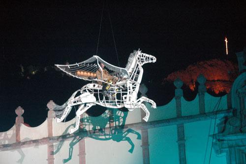 Zacatecas 7 - generik vapeur - 18 - Horse higher than city hall