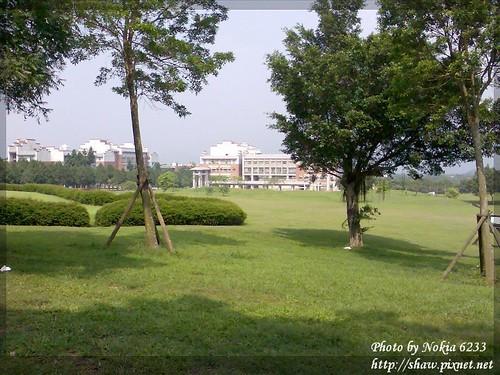 暨南大學校園一景