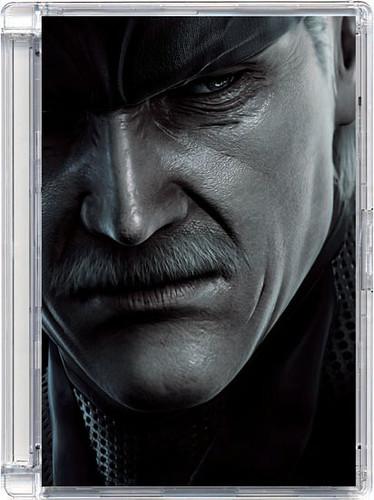 Kotak CD Metal Gear Solid 4 OST