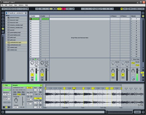 Ableton tutorial 2 recording file operations