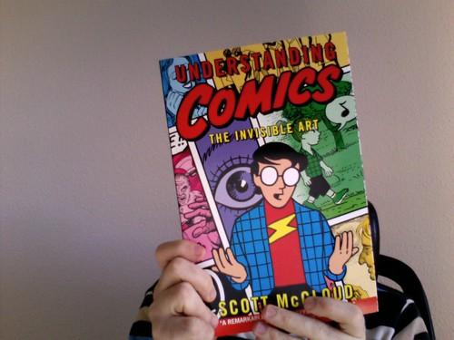 "Lese gerade ""Understanding Comics"" von Scott McCloud (1/3)"
