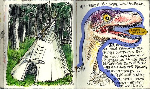 OJournal Teepee