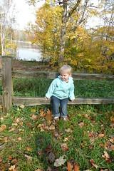 Ella loves the lake