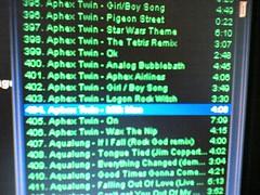 aphex twin winamp playlist