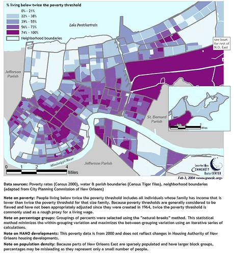 New Orleans Poverty Map