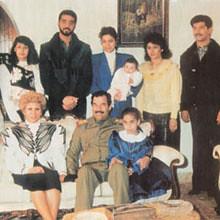 خانواده صدام