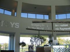 Inside TSYS reception area