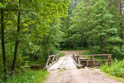 Tiltas tarp Linkmeno ir Asalnų ežerų