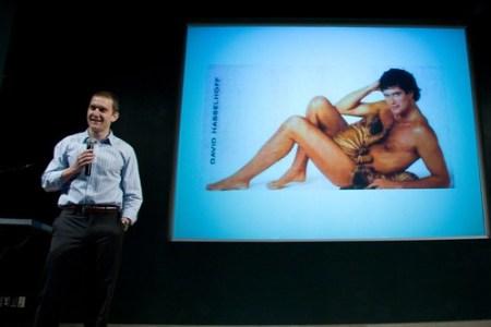 Hasselhoff, Nude! - Gnomedex 2008