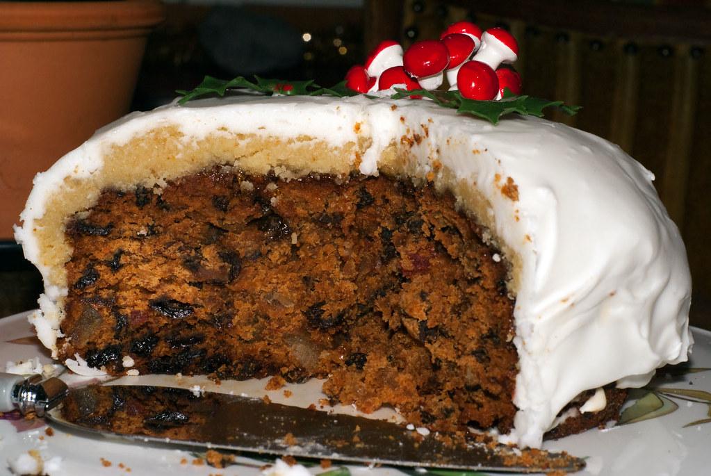 Christmas cake 2