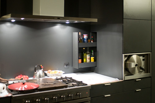 Keuken: uitschuifkastje