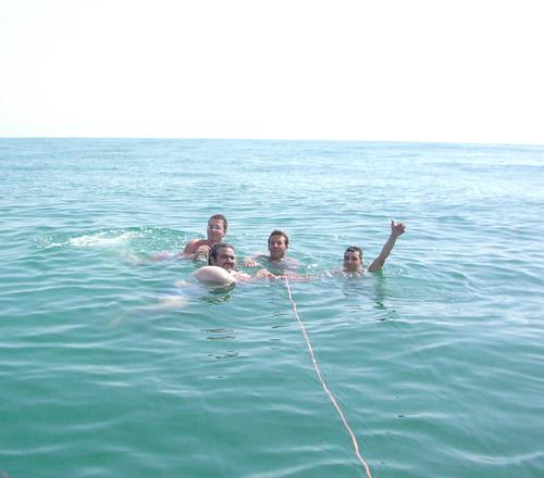Le Sirene in mare aperto