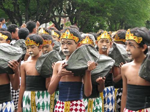 Wanara World Heritage Parade