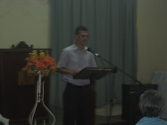 Evaldisio Preaching