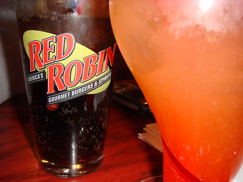 lunch at red robin
