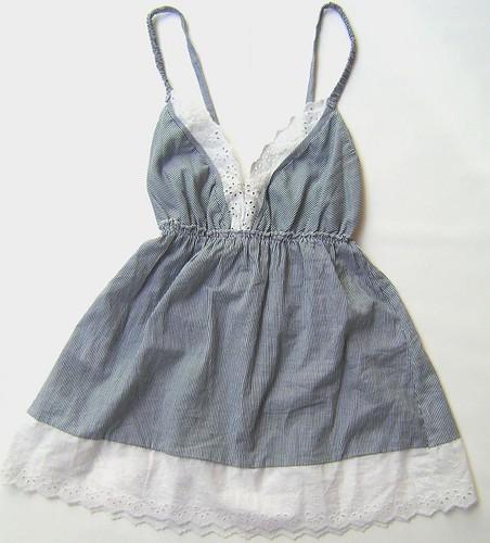 Camisa romántica sin mangas Peuque