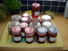 Jam packed with jam