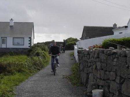 En bicicleta por la Isla de Innismore