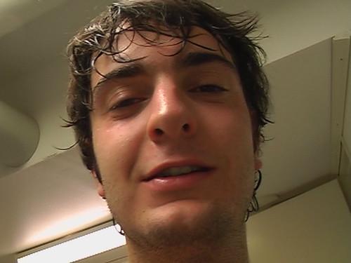 Paco after sauna