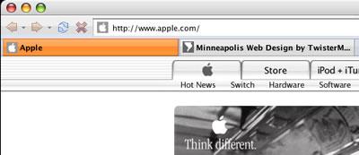 Firefox Earthlink Theme