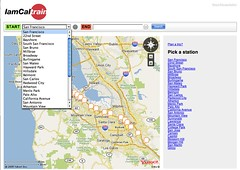 Flickr Photo Download: IamCaltrain Launches on new Yahoo Maps API