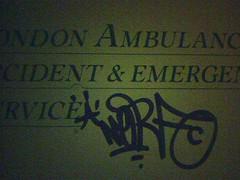 A 'Tagged' Ambulance
