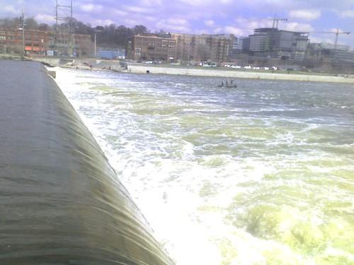 Grand River at Fish Ladder