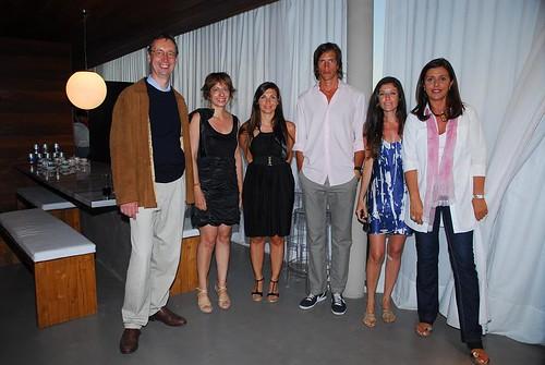 Casa BMW Punta del Este - Embajador Alemán en Uruguay + Iván de Pineda + Staff BMW