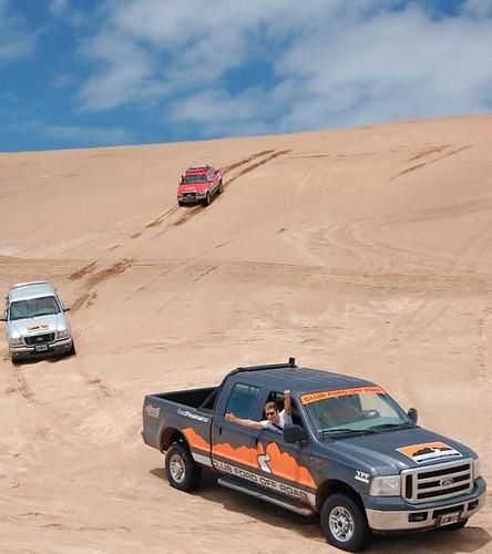Ford en la arena
