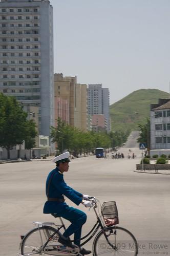 North Korean Army troop transports